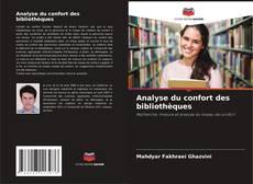 Bookcover of Analyse du confort des bibliothèques