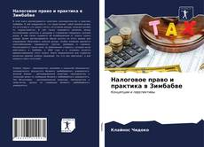 Capa do livro de Налоговое право и практика в Зимбабве