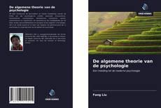 De algemene theorie van de psychologie kitap kapağı