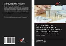 L'EFFICACIA DELLA MICROFINANZA NELLA RIDUZIONE DELLA POVERTÀ E DELLA DISOCCUPAZIONE的封面