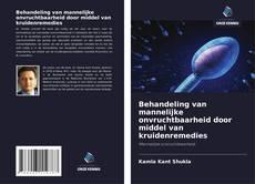 Portada del libro de Behandeling van mannelijke onvruchtbaarheid door middel van kruidenremedies