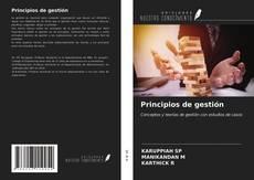 Portada del libro de Principios de gestión