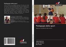 Buchcover von Pedagogia dello sport