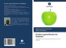 Copertina di Ernährungsrichtlinien für Diabetes