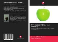 Portada del libro de Diretrizes dietéticas para Diabetes
