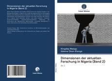 Capa do livro de Dimensionen der aktuellen Forschung in Nigeria (Band 2)