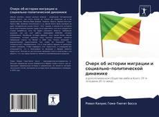 Bookcover of Очерк об истории миграции и социально-политической динамике