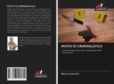 Bookcover of MOTIVI DI CRIMINALISTICA