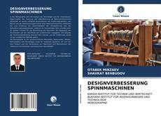 Bookcover of DESIGNVERBESSERUNG SPINNMASCHINEN