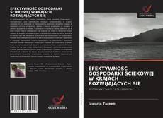 Portada del libro de EFEKTYWNOŚĆ GOSPODARKI ŚCIEKOWEJ W KRAJACH ROZWIJAJĄCYCH SIĘ