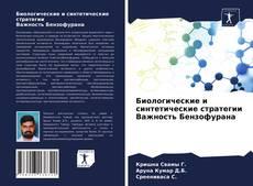 Copertina di Биологические и синтетические стратегии Важность Бензофурана
