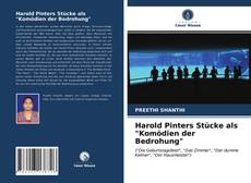 "Bookcover of Harold Pinters Stücke als ""Komödien der Bedrohung"""