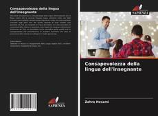 Bookcover of Consapevolezza della lingua dell'insegnante