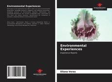 Capa do livro de Environmental Experiences