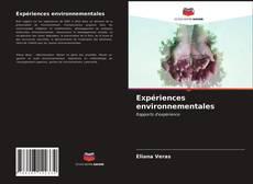 Couverture de Expériences environnementales