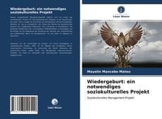 Copertina di Wiedergeburt: ein notwendiges soziokulturelles Projekt
