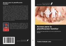 Buchcover von Acceso para la planificación familiar