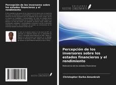 Couverture de Percepción de los inversores sobre los estados financieros y el rendimiento