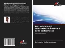 Copertina di Percezione degli investitori sul bilancio e sulla performance