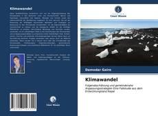 Klimawandel kitap kapağı
