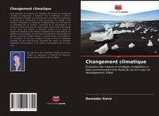 Capa do livro de Changement climatique
