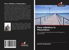 Copertina di Pace effettiva in Mozambico