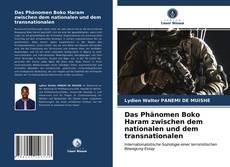 Portada del libro de Das Phänomen Boko Haram zwischen dem nationalen und dem transnationalen