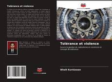 Portada del libro de Tolérance et violence