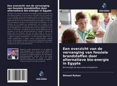 Een overzicht van de vervanging van fossiele brandstoffen door alternatieve bio-energie in Egypte kitap kapağı