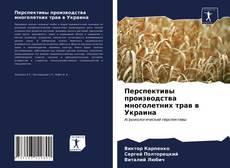 Bookcover of Перспективы производства многолетних трав в Украина