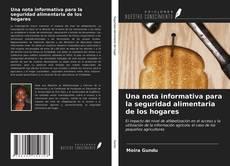 Bookcover of Una nota informativa para la seguridad alimentaria de los hogares