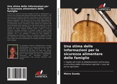 Bookcover of Una stima delle informazioni per la sicurezza alimentare delle famiglie