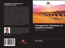 Обложка Changement climatique et mobilité humaine