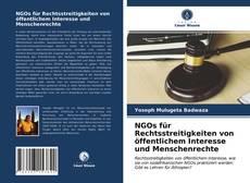 Portada del libro de NGOs für Rechtsstreitigkeiten von öffentlichem Interesse und Menschenrechte
