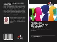 Portada del libro de PSICOLOGIA SEMPLIFICATA PER PRINCIPIANTI
