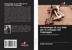 Portada del libro de Archeologia di una ONG per lo sviluppo del linguaggio