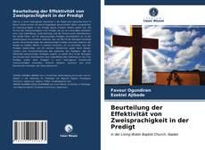 Buchcover von Beurteilung der Effektivität von Zweisprachigkeit in der Predigt