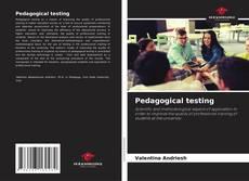 Portada del libro de Pedagogical testing