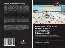 Copertina di Gestire le differenze culturali nelle organizzazioni internazionali