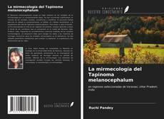 Portada del libro de La mirmecología del Tapinoma melanocephalum