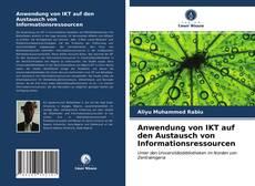 Buchcover von Anwendung von IKT auf den Austausch von Informationsressourcen
