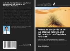 Portada del libro de Actividad antipirética de las plantas medicinales del desierto de Cholistán Pakistán