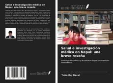 Portada del libro de Salud e investigación médica en Nepal: una breve reseña