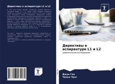 Директивы в аспирантуре L1 и L2 kitap kapağı