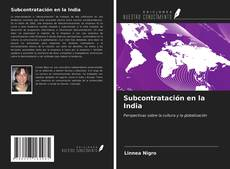 Bookcover of Subcontratación en la India