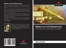 Capa do livro de Notes on Civil Resources