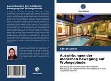 Bookcover of Auswirkungen der modernen Bewegung auf Wohngebäude
