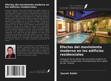 Efectos del movimiento moderno en los edificios residenciales kitap kapağı