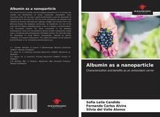 Portada del libro de Albumin as a nanoparticle