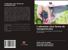 Bookcover of L'albumine sous forme de nanoparticules